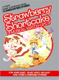 Box cover for Strawberry Shortcake Musical Match-Ups on the Atari 2600.