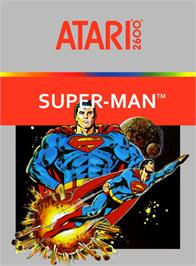 Box cover for Superman on the Atari 2600.