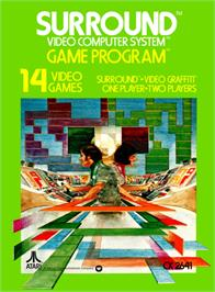 Box cover for Surround on the Atari 2600.