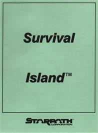 Box cover for Survival Island on the Atari 2600.