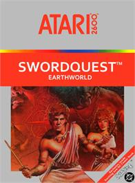 Box cover for SwordQuest: EarthWorld on the Atari 2600.