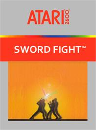 Box cover for Swordfight on the Atari 2600.