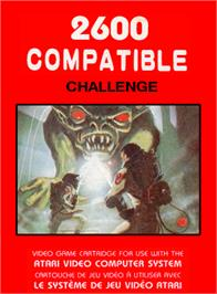 Box cover for The Challenge of NEXAR on the Atari 2600.