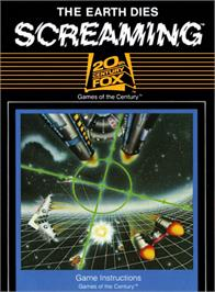 Box cover for The Earth Dies Screaming on the Atari 2600.