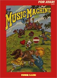 Box cover for The Music Machine on the Atari 2600.