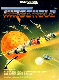 Box cover for Threshold on the Atari 2600.