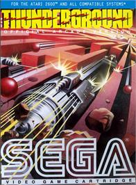 Box cover for Thunderground on the Atari 2600.