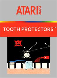 Box cover for Tooth Protectors on the Atari 2600.