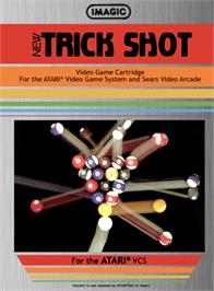 Box cover for Trick Shot on the Atari 2600.