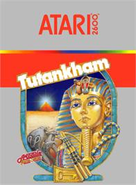 Box cover for Tutankham on the Atari 2600.