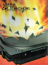 Box cover for Ultra SCSIcide on the Atari 2600.