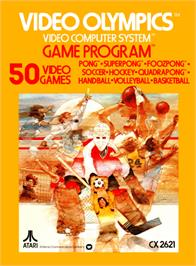 Box cover for Video Olympics on the Atari 2600.