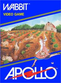 Box cover for Wabbit on the Atari 2600.