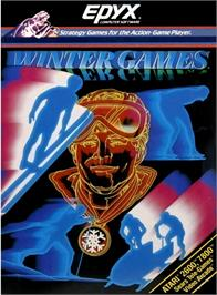 Box cover for Winter Games on the Atari 2600.
