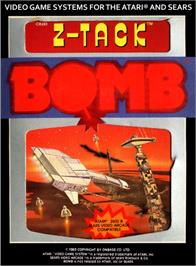 Box cover for Z-Tack on the Atari 2600.