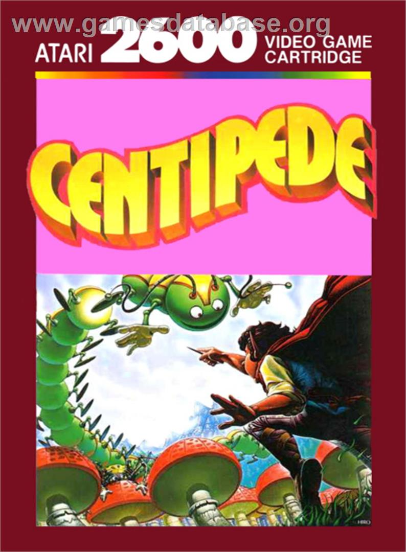 Centipede - Atari 2600 - Artwork - Box