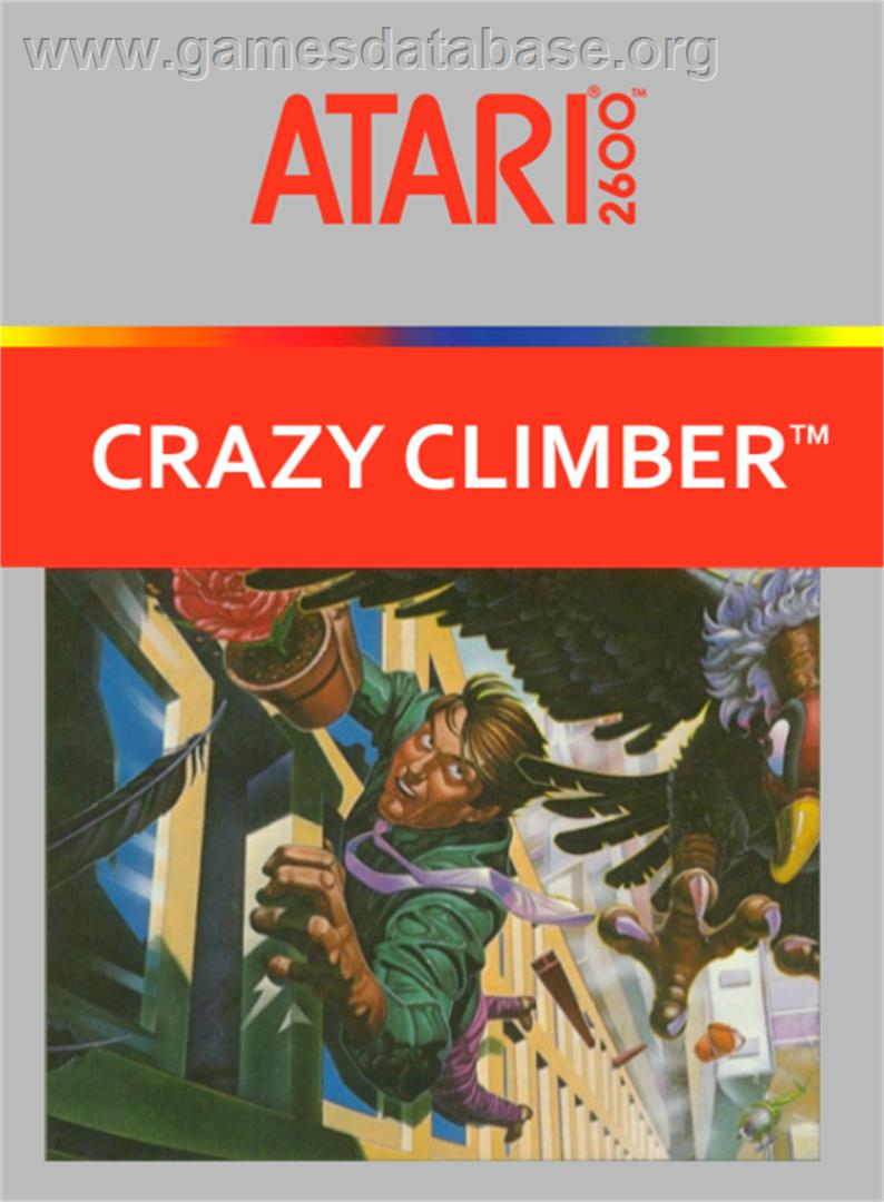 Crazy Climber - Atari 2600 - Artwork - Box
