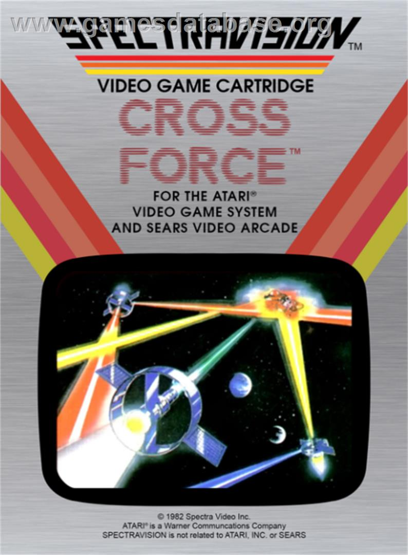 Cross Force - Atari 2600 - Artwork - Box