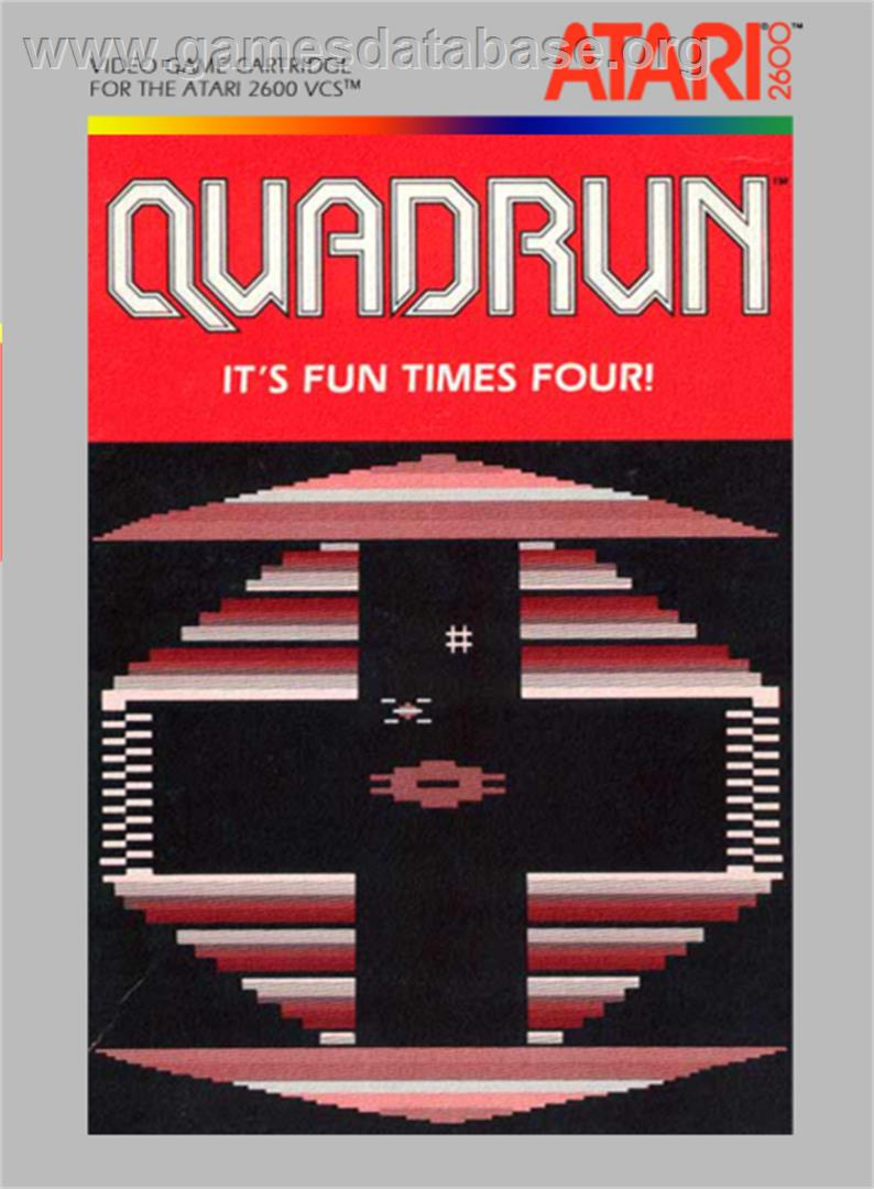 Quadrun - Atari 2600 - Artwork - Box