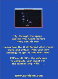 Box back cover for Allia Quest on the Atari 2600.