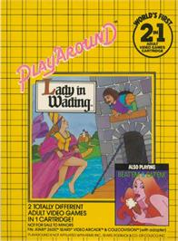 Box back cover for Beat 'Em & Eat 'Em/Lady in Wading on the Atari 2600.