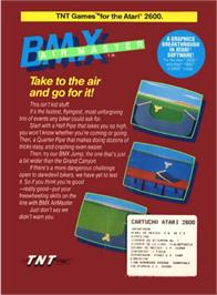 Box back cover for Kung-Fu Master on the Atari 2600.