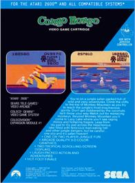 Box back cover for London Blitz on the Atari 2600.