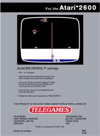 Box back cover for Phaser Patrol on the Atari 2600.