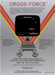 Box back cover for Pressure Cooker on the Atari 2600.