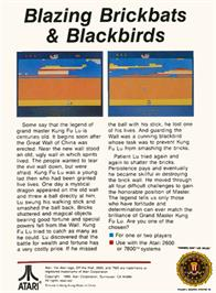 Box back cover for Save the Whales on the Atari 2600.