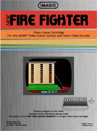 Box back cover for Spider Fighter on the Atari 2600.