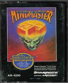 Cartridge artwork for Escape from the Mindmaster on the Atari 2600.