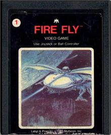 Cartridge artwork for Fire Fly on the Atari 2600.