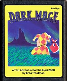 Cartridge artwork for Marble Craze on the Atari 2600.