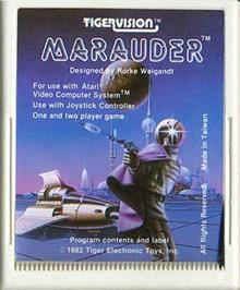 Cartridge artwork for Master Builder on the Atari 2600.