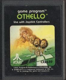 Cartridge artwork for Othello on the Atari 2600.
