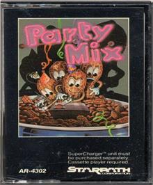 Cartridge artwork for Party Mix on the Atari 2600.