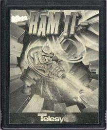 Cartridge artwork for Ram It on the Atari 2600.