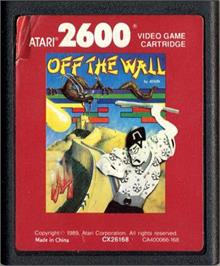 Cartridge artwork for Save the Whales on the Atari 2600.