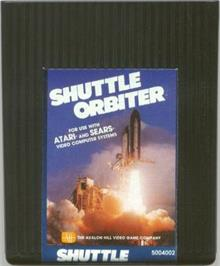 Cartridge artwork for Shuttle Orbiter on the Atari 2600.