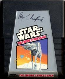 Cartridge artwork for Star Wars: The Empire Strikes Back on the Atari 2600.