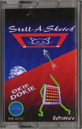 Cartridge artwork for Stell-A-Sketch/Okie Dokie on the Atari 2600.