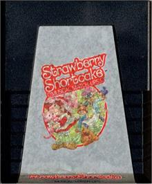 Cartridge artwork for Strawberry Shortcake Musical Match-Ups on the Atari 2600.