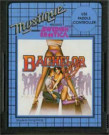 Cartridge artwork for Swedish Erotica: Bachelor Party on the Atari 2600.