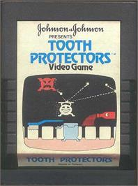 Cartridge artwork for Tooth Protectors on the Atari 2600.