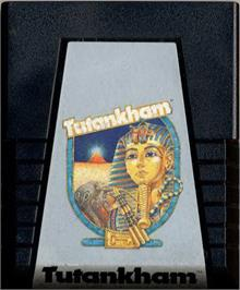 Cartridge artwork for Tutankham on the Atari 2600.