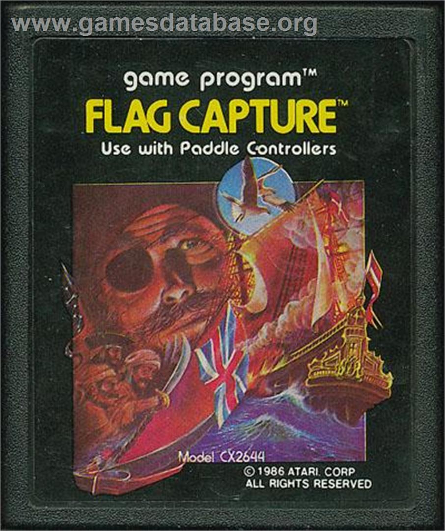 Flag Capture - Atari 2600 - Artwork - Cartridge