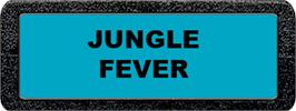 Top of cartridge artwork for Jungle Fever/Knight on the Town on the Atari 2600.