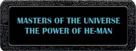 Top of cartridge artwork for Masters of the Universe: The Power of He-Man on the Atari 2600.