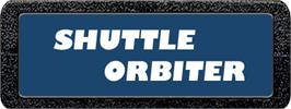 Top of cartridge artwork for Shuttle Orbiter on the Atari 2600.